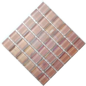 pearl soft pink mosaic tiles
